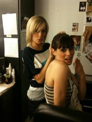 Морган Уэбб, фото 3. Alison Haislip n Morgan Webb, photo 3