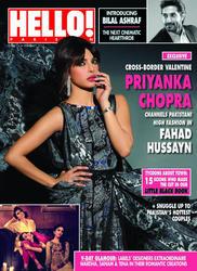 Priyanka Chopra - Hello! Pakistan February 2013