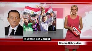 Sandra Schneiders - RTL2 News - 03.08.2011 - HD