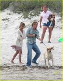 Jennifer Aniston - 10th March - cute with Owen Wilson and dog