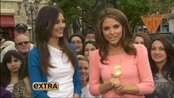 Victoria Justice & Maria Menounos- Extra Interview 3/27/12