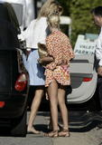 Tara Reid expose her ass in short dress in Malibu