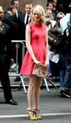 Emma Stone - Calvin Klein fashion show in New York 09/13/12