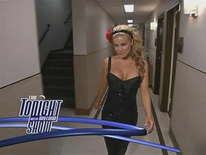 Carmen Electra - The Tonight Show with Jay Leno (2005-08-19)