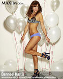 Danneel Harris leggy and cleavagy posing in lingerie and bikini in